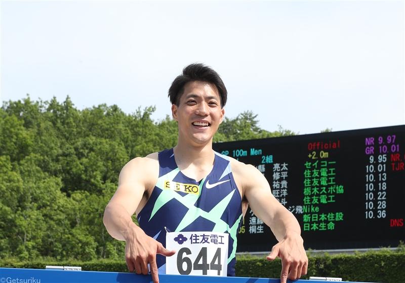 日本選手権エントリー発表!山縣、サニブラウン、桐生ら 女子100m福島、5000mに新谷、田中は3種目登録