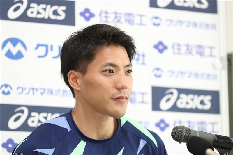 山縣亮太100m9秒95の日本新!悲願の9秒台「ずっと出したかった」日本選手権3位以内で五輪内定