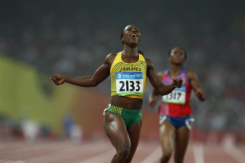ジャマイカのキャンベル・ブラウンが現役引退を発表 女子200mでアテネ&北京五輪連覇