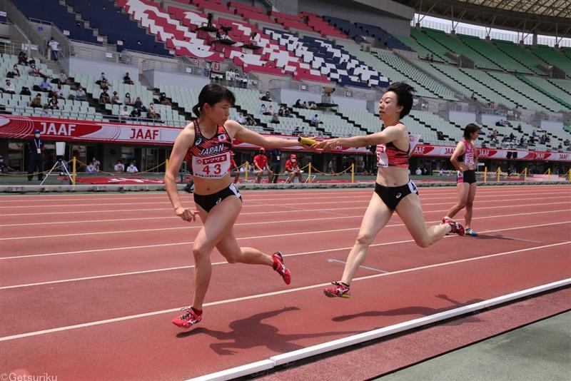 日本選手権最終日に急きょ女子4×400mR実施!最強カルテットで東京五輪出場へ本当のラストチャレンジ!