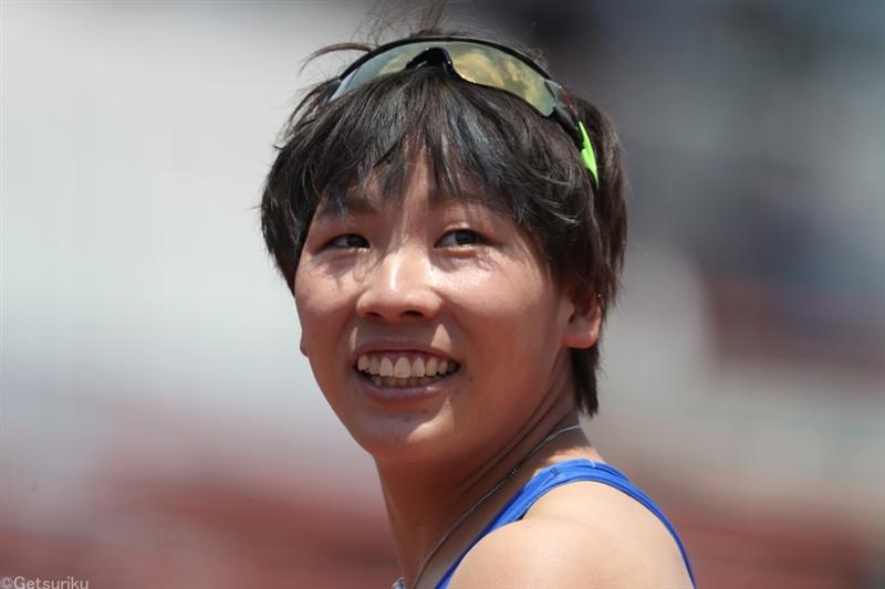 女子100m予選は名倉千晃が11秒53の自己新でトップ通過、君嶋も11秒60/布勢スプリント