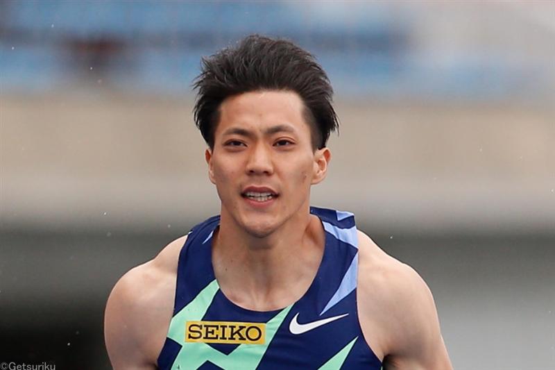 男子100mで山縣亮太9秒95の日本新記録!!/布勢スプリント
