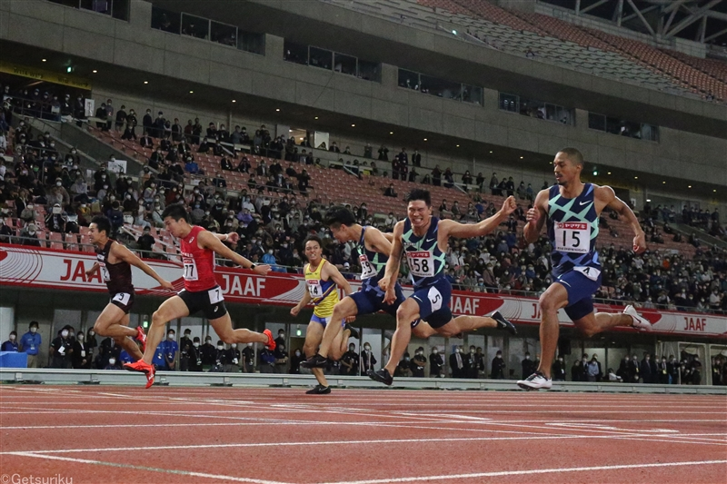 日本選手権初日のスタートリスト発表!100m予選は山縣1組2レーン、サニブラウン6組2レーン、桐生7組6レーン