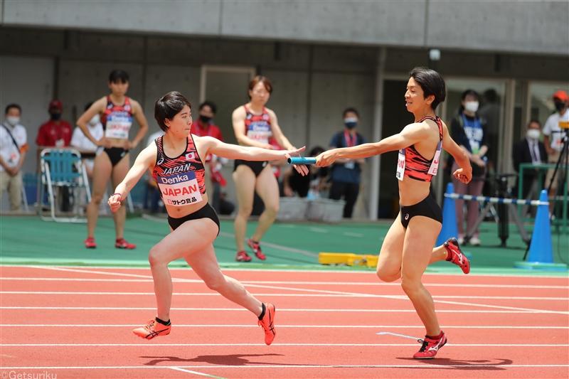 東京五輪へラストチャンス!日本女子4×400mR代表が出場権を懸けて、明日の日本選手権でオープンレース実施