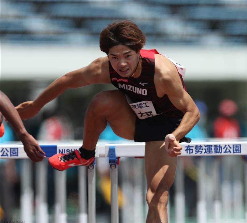 男子110mH予選は金井大旺、高山峻野、石川周平が1着通過/布勢スプリント