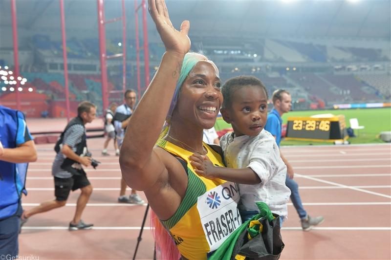 34歳のS.A.フレイザー・プライス100m世界歴代2位の10秒63!9年ぶり自己新で東京五輪に照準