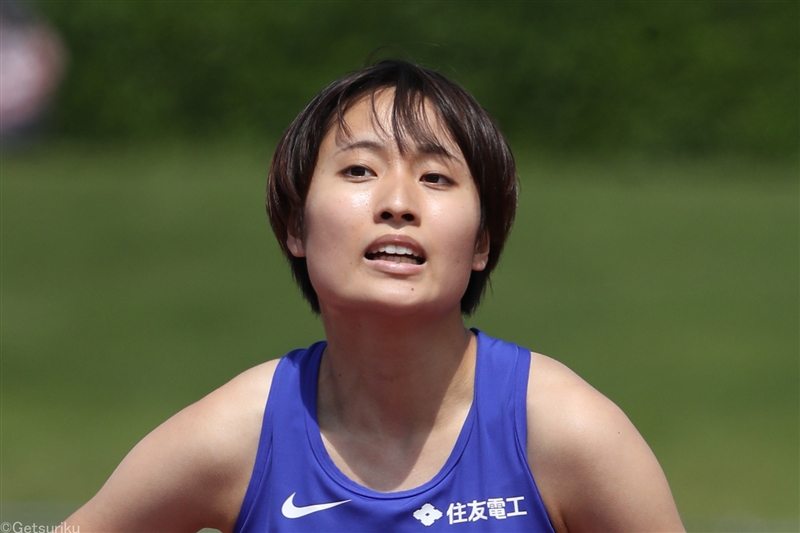 女子100mは御家瀬緑が11秒57で復活V/布勢スプリント
