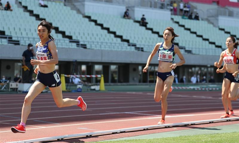 東京五輪女子5000m代表の田中希実が1500mで快勝/木南記念