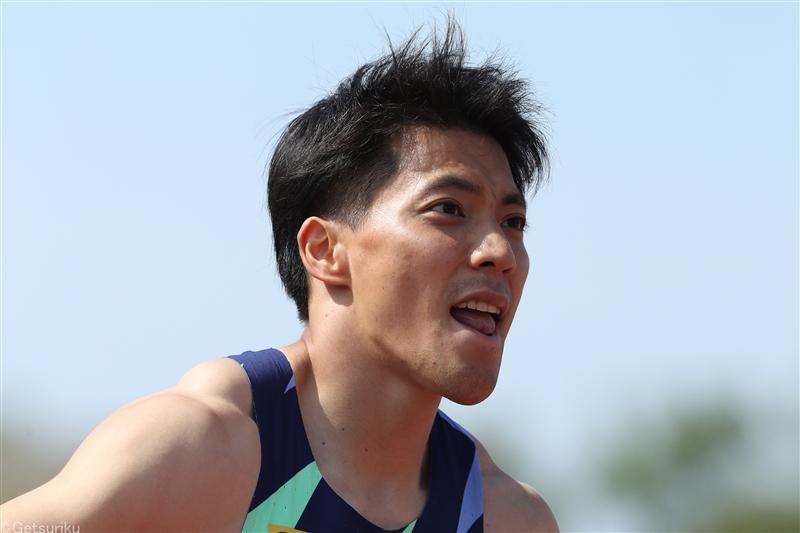 山縣9秒95、日本のエースが五輪3大会連続出場へ鮮やかに復活!!/布勢スプリント