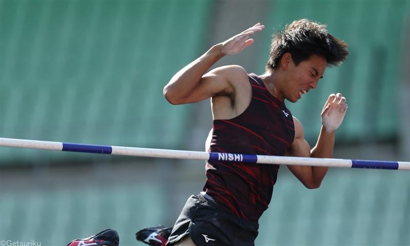 棒高跳は竹川倖生が日本歴代7位!4年ぶり自己新5m65で制す/木南記念