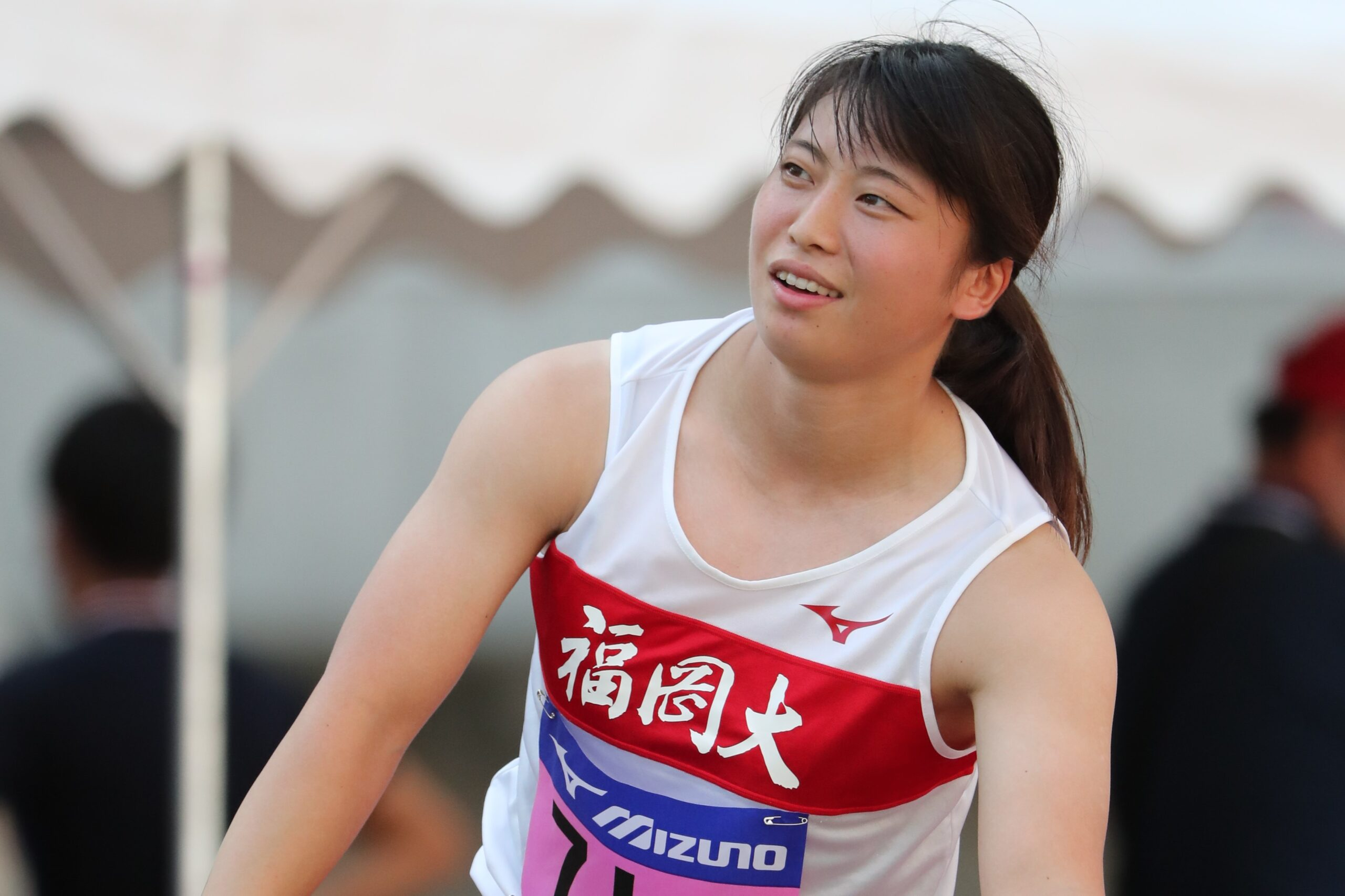上田百寧が3度目の女子やり投60m超え 男子400mHは地元・黒川が大会新V/田島記念