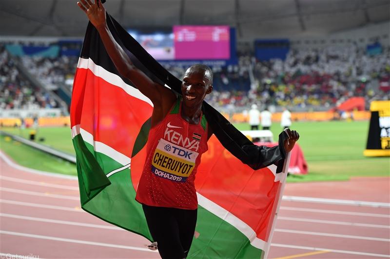 ドーハ世界選手権男子1500m金メダリスト・チェルイヨットが東京五輪代表に、ケニア代表選考会4位から繰り上げ