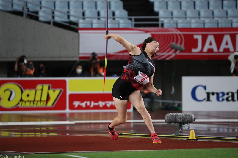 やり投・北口榛花 東京五輪でメダル獲得に向け「1ヵ月、大切にしっかり練習を積んでいきたい」