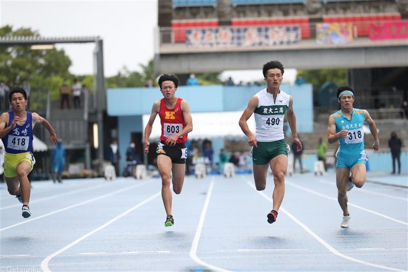 福井インターハイのスタートリストが発表! 注目の東京五輪4継代表補欠・栁田大輝は100m予選3組に登場