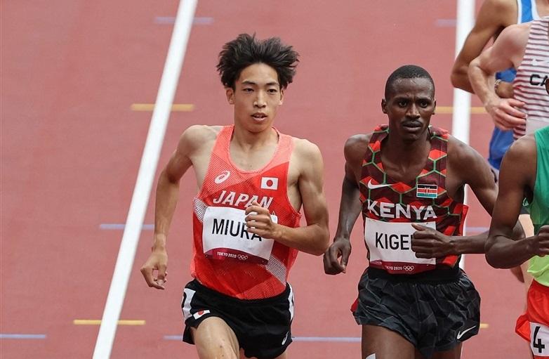 3000m障害三浦龍司が8分09秒92の日本新!!49年ぶり決勝進出へ!