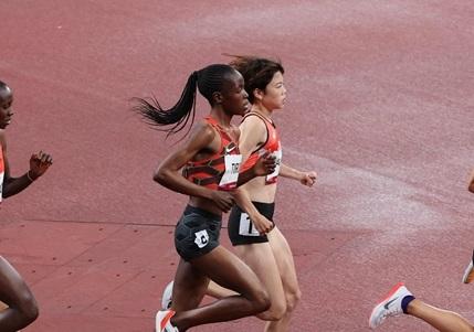 5000m予選・萩谷楓 予選敗退も日本歴代6位の15分04秒95の自己新!