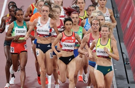 田中希実5000mは自己新の初14分台も予選敗退「ラストの流れに対応できず悔しい」