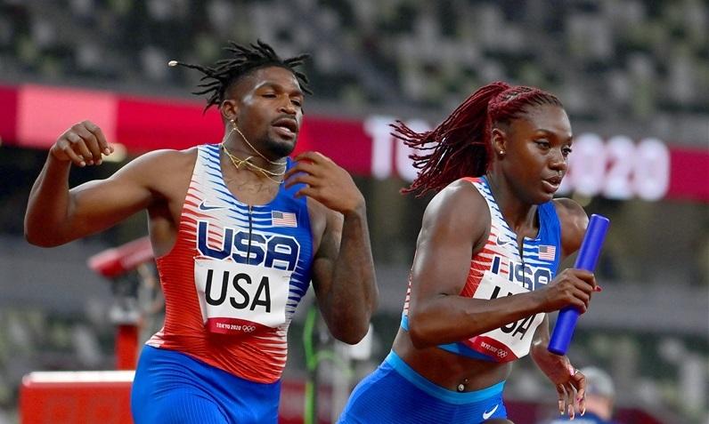 男女混合4×400mRで米国が予選の失格取り消しで一転決勝進出