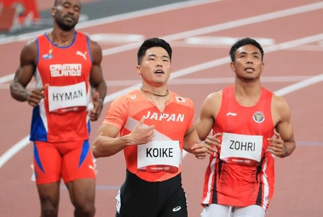 小池祐貴は100m予選敗退「今できる準備はした。これが実力」準決勝まであと0.01秒届かず