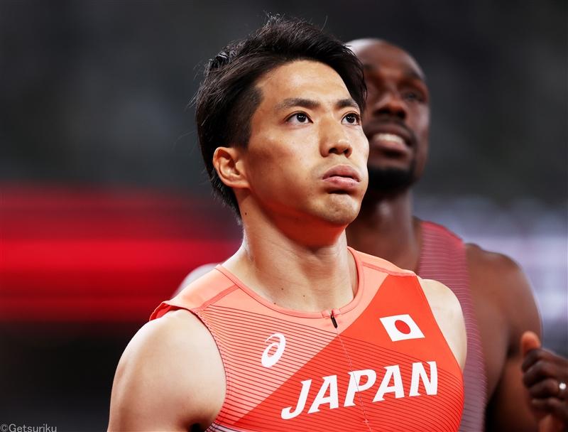 100m山縣亮太、3度目の五輪で初の予選敗退「すごく緊張」