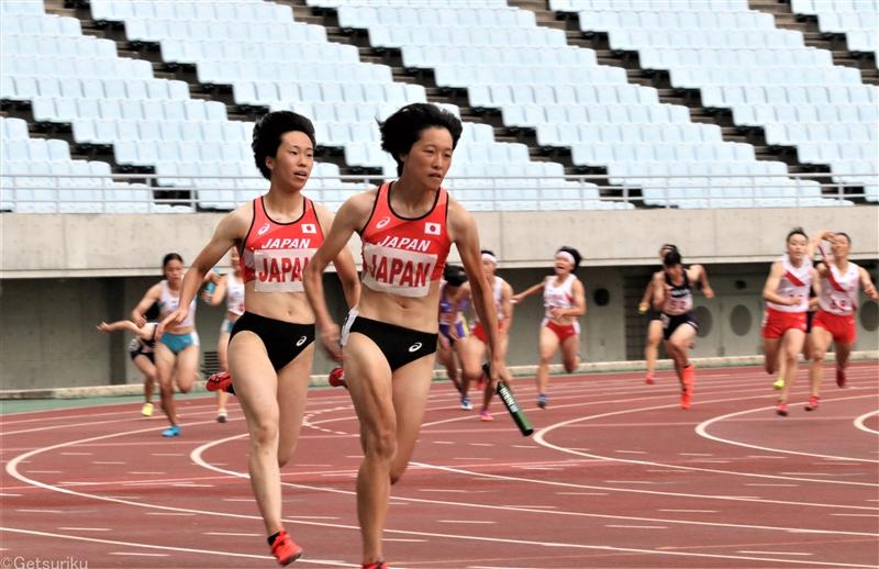 東京五輪女子4×100mR代表が連日のタイムアタックで手応え、本番では10年ぶりの日本新に挑戦
