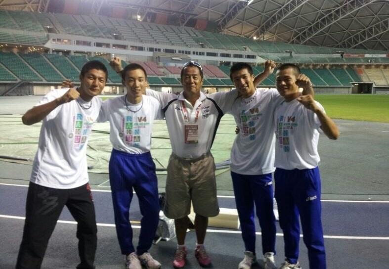 「走れ、桐生」4継メダル狙う桐生祥秀に洛南高の恩師・同級生からメッセージ