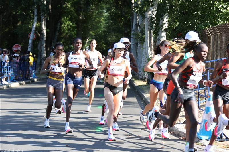 女子マラソンは一山麻緒「悔いはない」最高位の8位入賞!鈴木が19位、前田は33位