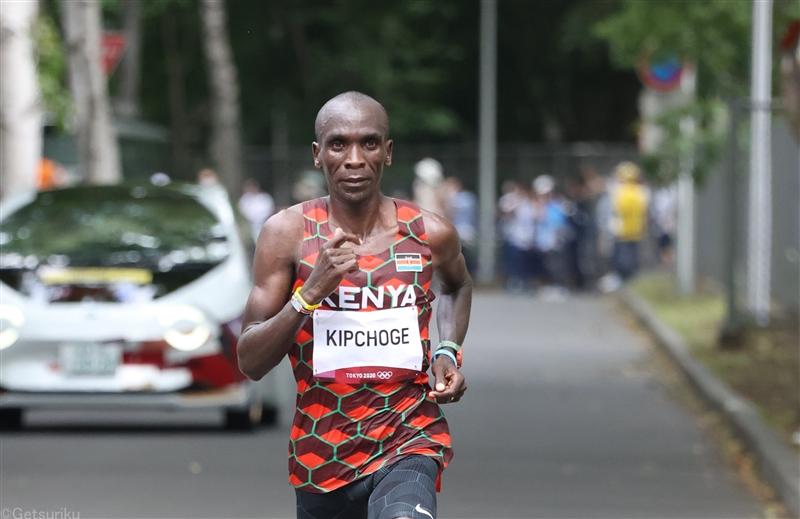 威風堂々!マラソン王者キプチョゲが史上3人目の五輪連覇達成