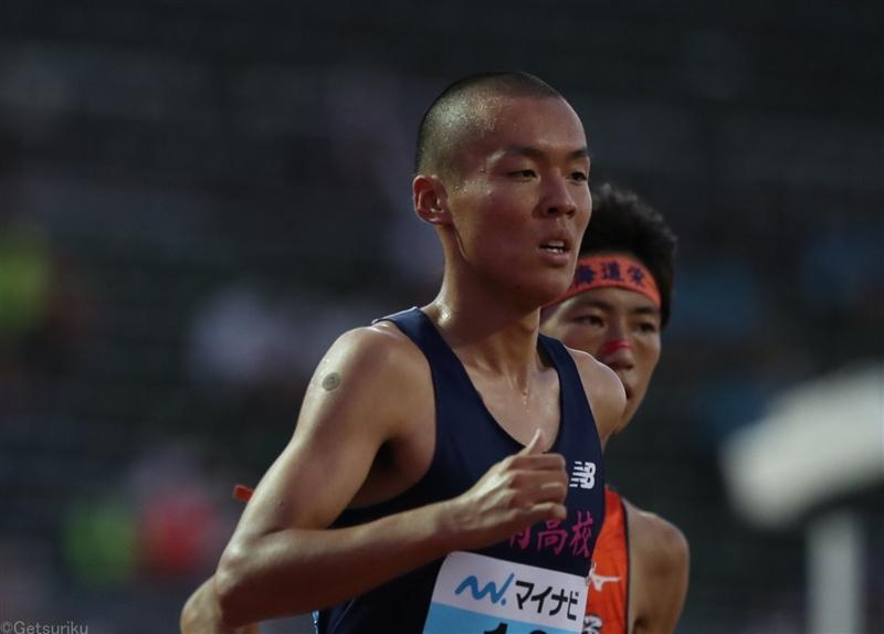 日本人4人が13分台!5000m日本人トップは佐藤圭汰「長距離主将として少しでも多く得点」/福井IH
