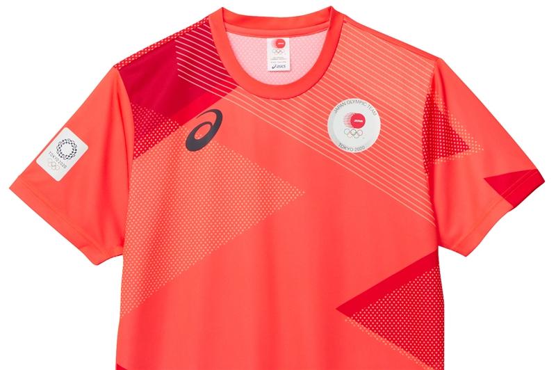 【プレゼント】アシックス「TEAM RED Tシャツ」/2021年9月号