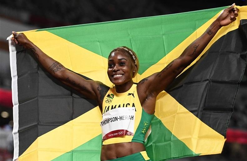五輪2冠のトンプソン100m世界歴代2位の10秒54!ジョイナーの世界記録に肉薄/DLユージン