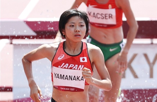 3000m障害・20歳の山中柚乃が健闘!「日本記録更新できず悔しい」と涙も日本人五輪最高記録