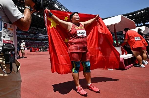 女子砲丸投・鞏立姣が中国悲願の五輪金メダル!36歳アダムスが最年長メダリストに