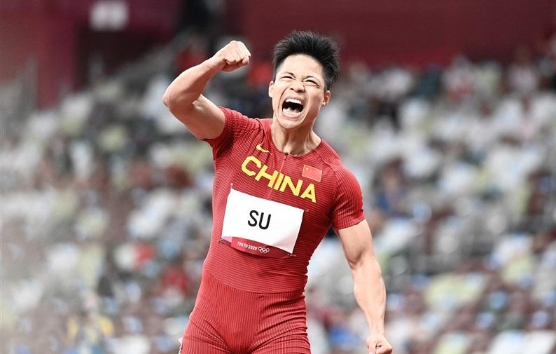 中国の蘇炳添が9秒83!!アジア新記録!!準決勝トップでファイナルへ