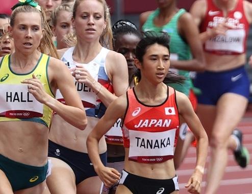 女子1500m刻んだ歴史 田中と卜部が日本人初出場 田中が日本新で準決勝進出