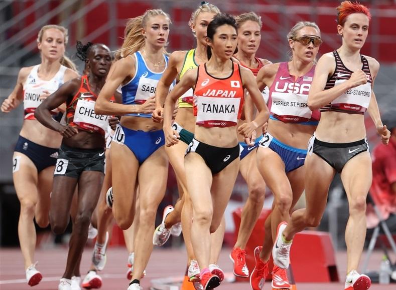 田中希実 歴史的快挙1500m決勝進出!日本人初4分切り3分59秒19「ラスト1周にこだわりたい」