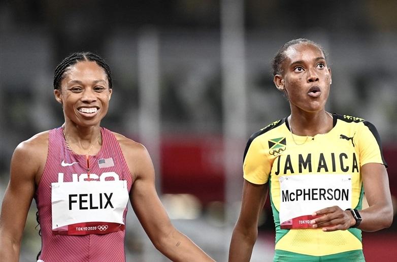 35歳ママになったアリソン・フェリックス400mで決勝へ!7個目五輪金に挑戦