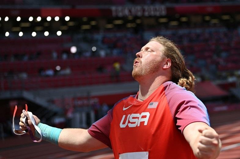 クルーザー砲丸投史上4人目の連覇!自身の世界記録まであと7cmに迫る五輪新