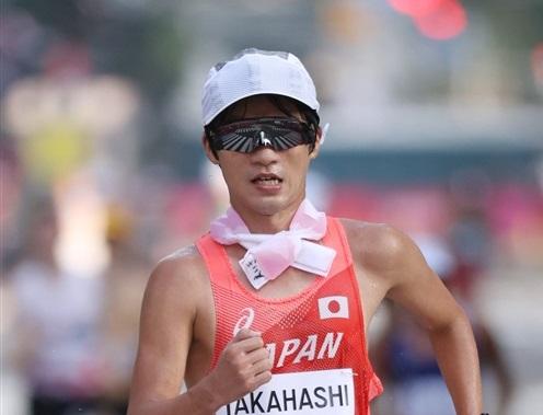 20km競歩2大会五輪の高橋英輝は32位「支えがあって最後まで歩けた」