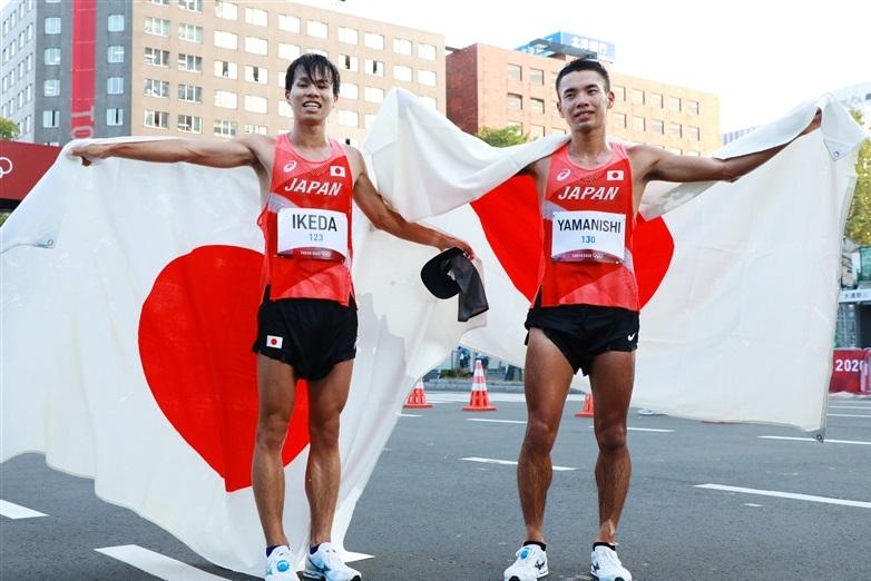 20km競歩世界王者・山西利和 銅で史上4人目の世界大会Wメダルも「金取れず残念」