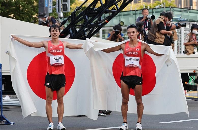 男子競歩で快挙!池田が銀、山西が銅と2つのメダル獲得 チーム強化の思い札幌で結実