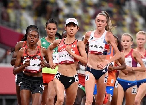 20歳・廣中璃梨佳10000mで25年ぶり7位入賞!5000m日本新に続いて快走