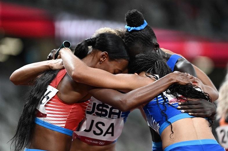 女子マイルリレー米国が7連覇!アリソン・フェリックス女子史上最多7つの金メダルで五輪有終の美