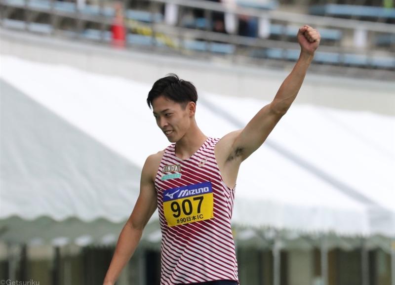 近大高専の伊藤陸が走幅跳で学生歴代10位の8m05!41年ぶり快挙へまず1冠/日本IC