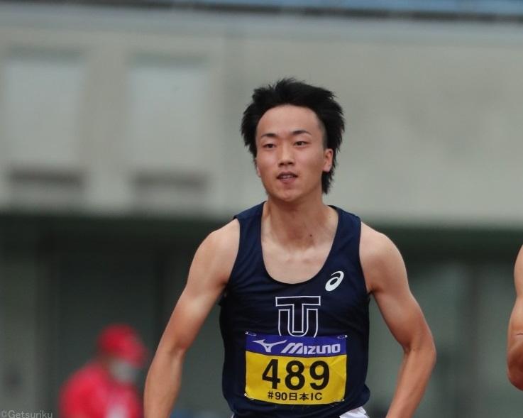 日本ICクローズアップ/宮本大輔が初めて見せた涙 大学最後の100mは準決勝敗退「このままじゃ終われない」