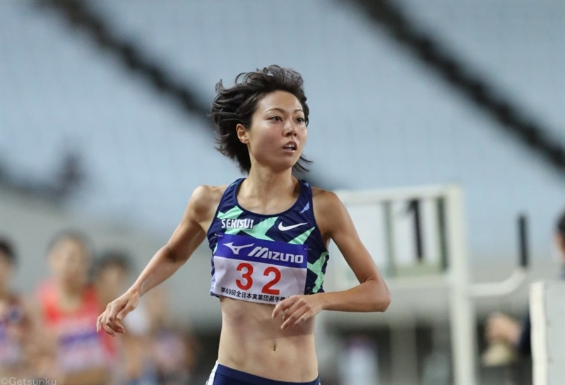 1500m五輪代表・卜部蘭は3位「リズムに乗せられなかった」廣中は7位/全日本実業団