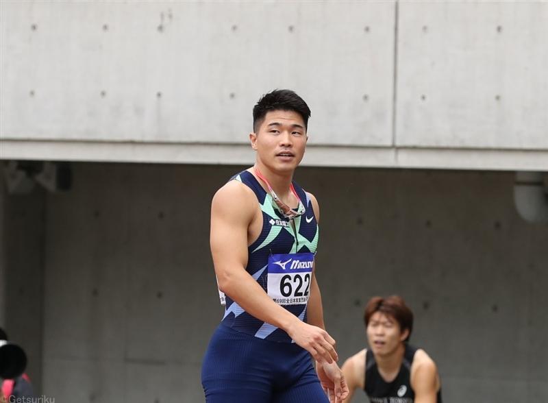 小池祐貴200m20秒55でV100mと2冠「勝ちきるのは大事なこと」来季も2種目挑戦/全日本実業団