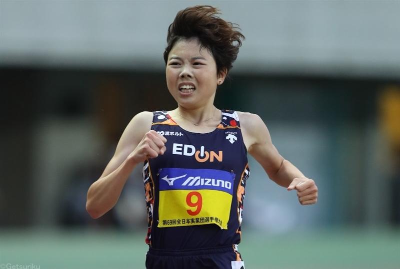 萩谷楓が日本人5人目の14分台突入!日本歴代4位の14分59秒36「ひと皮むけた」/全日本実業団