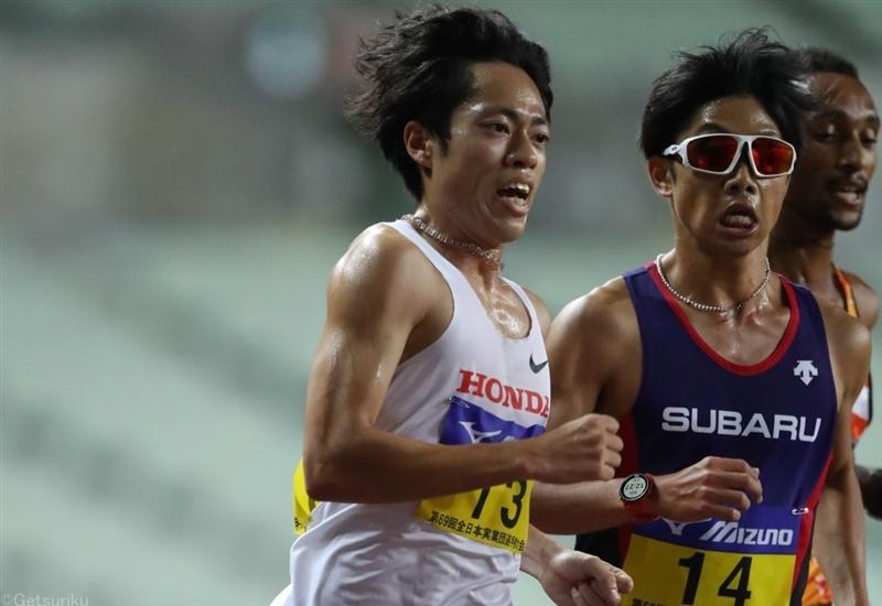 3000m障害五輪代表の青木涼真が5000mでV!13分21秒81の自己新でスピード見せる/全日本実業団