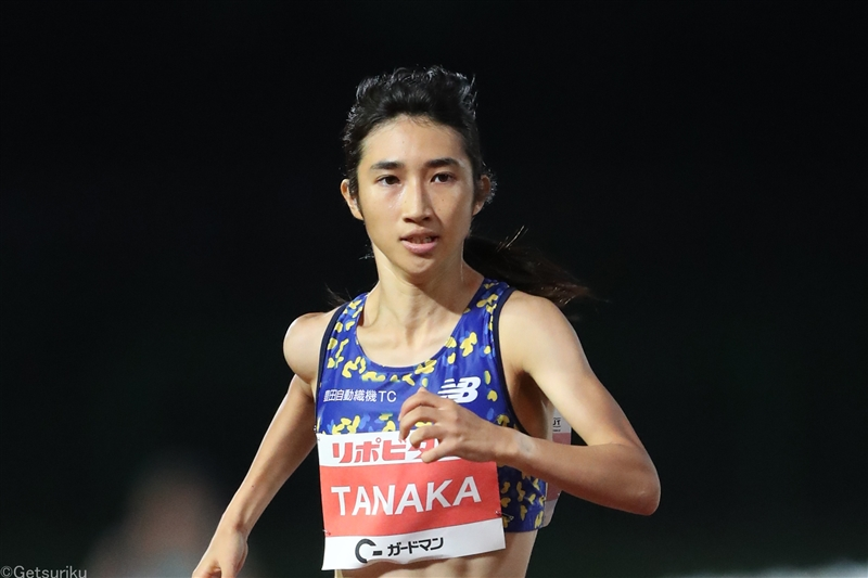 田中希実が福島で快走 800m2分6秒76でV/TWOLAPS MIDDLE DISTANCE CIRCUIT
